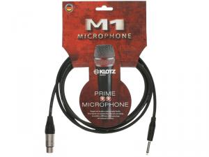Kabel mikrofonowy KLOTZ M1FP1K0100 XLR-jack (1,0m)
