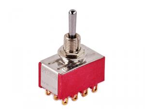 Przełącznik 4PDT on-on-on mini MEC 80010 (CR)