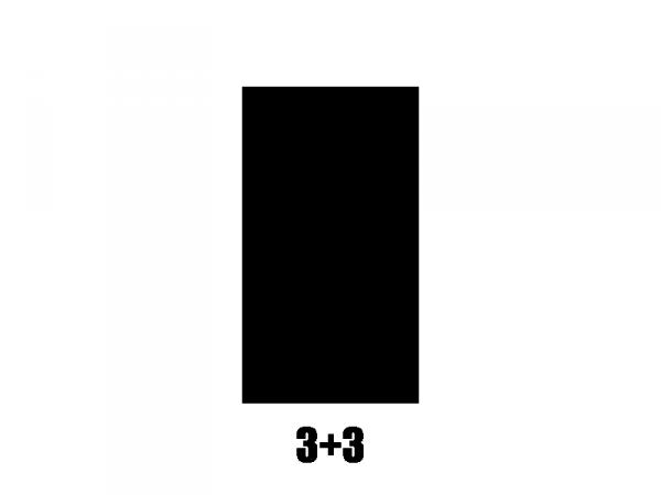 Klucze do gitary GOTOH SE770-06M (CR,3+3)