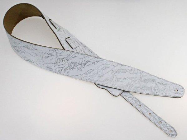 Pasek skórzany RALI Classic 06 (biały)