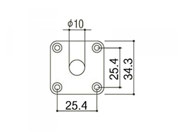 Płytka jack GOTOH JCB-4 (BK)