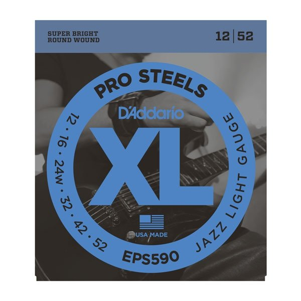 Struny D'ADDARIO XL ProSteels EPS590 (12-52)