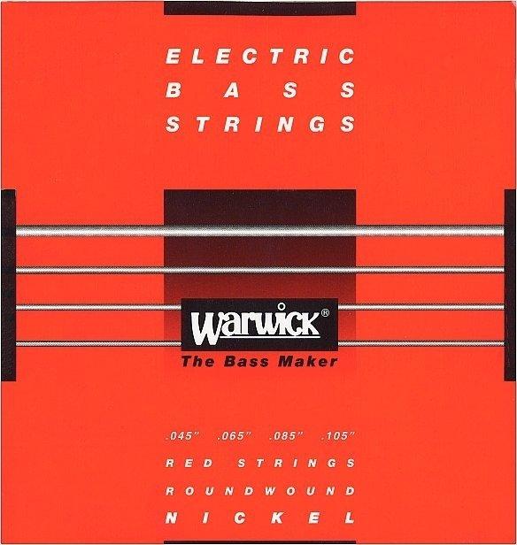 Struny WARWICK 46200 (45-105) Nickel Plated Steel