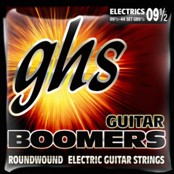 Struny GHS Boomers Roundwound (9,5-44)