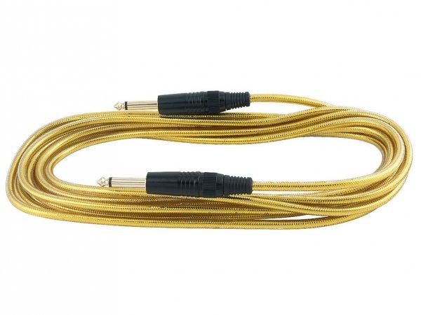 Kabel instrumentalny RockCable 5m RCL 30205 D6 GOL