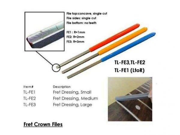 Pilniki do końcówek progów HOSCO TL-FE (R-3)