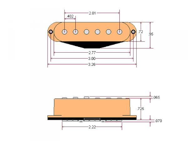 DIMARZIO DP423B Injector (BK, bridge)