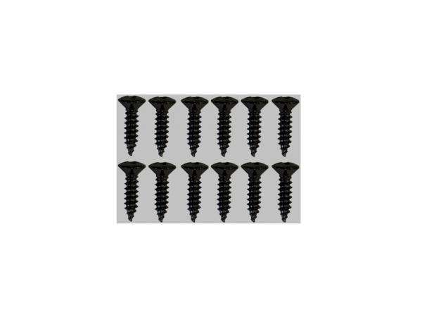 Wkręty do mocowania pickguardów GOTOH TS-01 (BK)