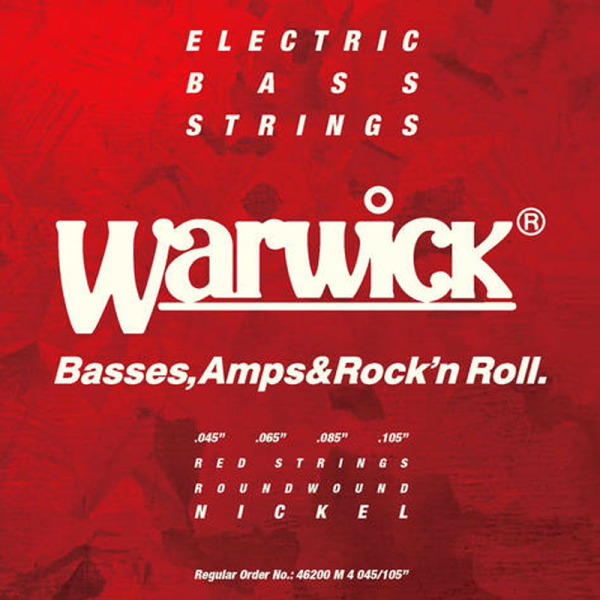 Struny do basu WARWICK Nickel Plated (45-105)