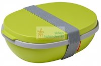 Lunchbox Ellipse Duo limonka 2 poziomy Rosti Mepal