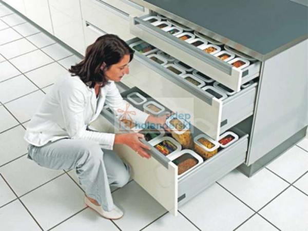 Pojemnik kuchenny do lodówki na ser i wędlinę w kawałku - Pojemnik kuchenny na żywność Modula Rosti Mepal - sklepholenderski.pl zdj 8