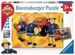 Ravensburger Puzzle 2x12 elementów - Strażak Sam