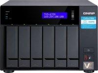 NAS TVS-672N-i3-4G Tower, 6 dysków, 4GB RAM