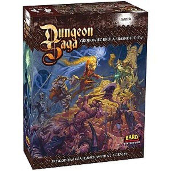 Bard BARD Gra Dungeon Saga: G robowiec KrólaKrasnolodó