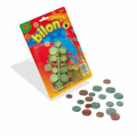 Pieniądze Złotówki, Bilon