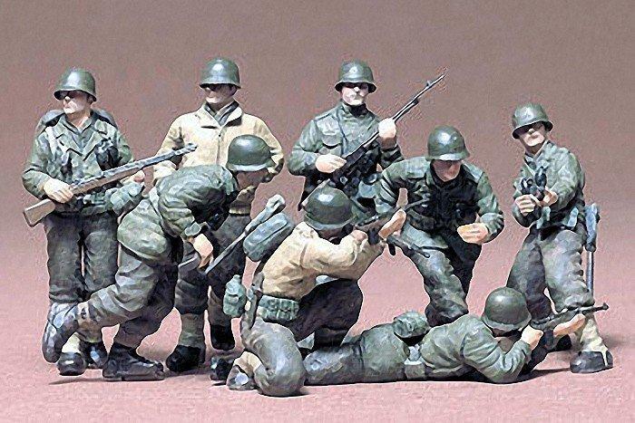Tamiya TAMIYA U.S. Infantry Eur Theater