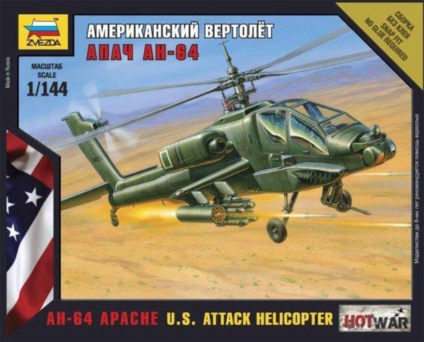 Zvezda ZVEZDA AH-64 Apache U.S. Attack