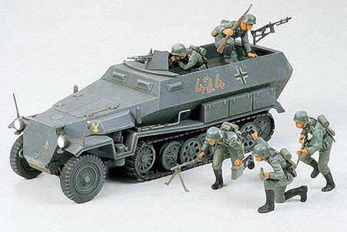 Tamiya TAMIYA German Hanomag Sd kfz 251/1