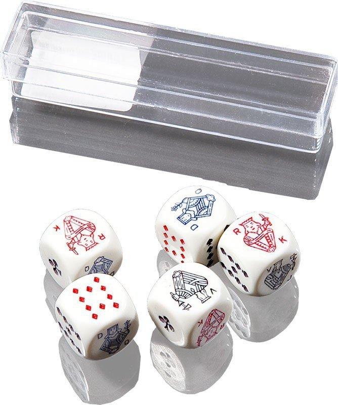 Piatnik Kości pokerowe małe 5 sztuk