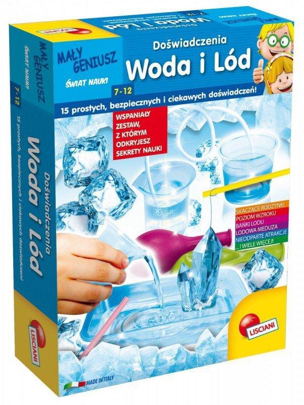 Lisciani Mały Geniusz, Doświadczenia z wodą i lodem