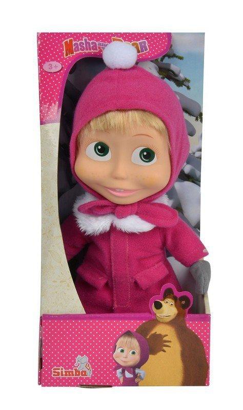 Simba Masza i Niedźwiedź Miękka lalka zimowa