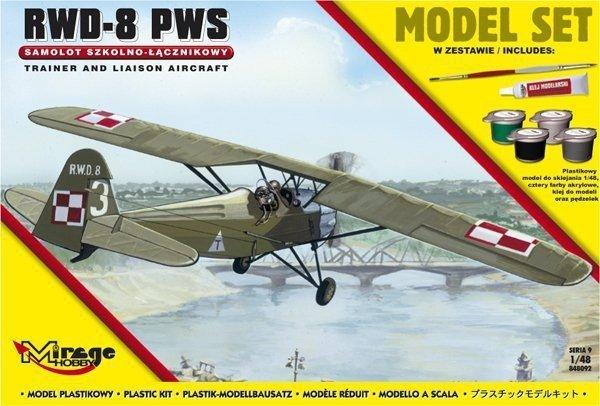 Mirage RWD-8 PWS model set