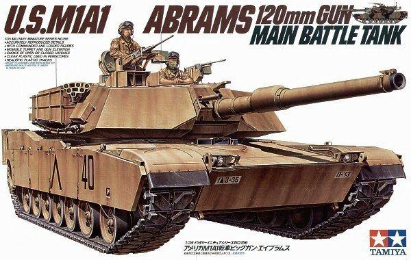 Tamiya U.S. M1A1 Abrams