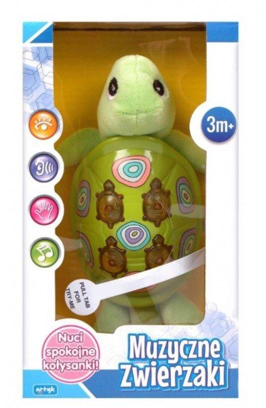 Zabawka muzyczna- żółwik