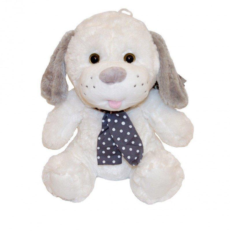 Axiom Maskotka Pies Kolekcja Silver biały 35 cm