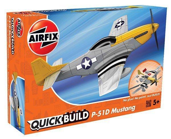 Airfix Model plastikowy QUICKBUILD Mustang P-51D