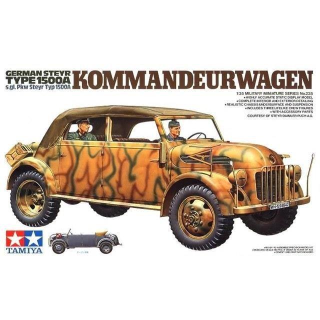 Tamiya German Steyr Type 1500A Kommandeurwagen