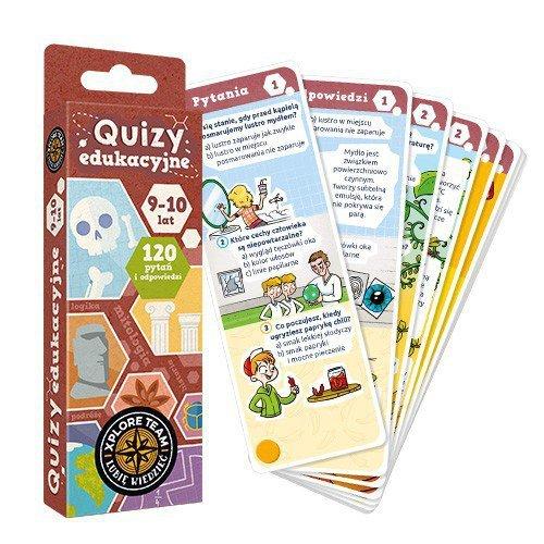 Gra Xplore Team Quizy dla dzieci 9-10 lat