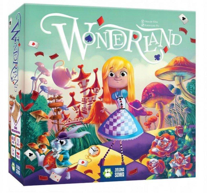 Zielona Sowa Gra Wonderland