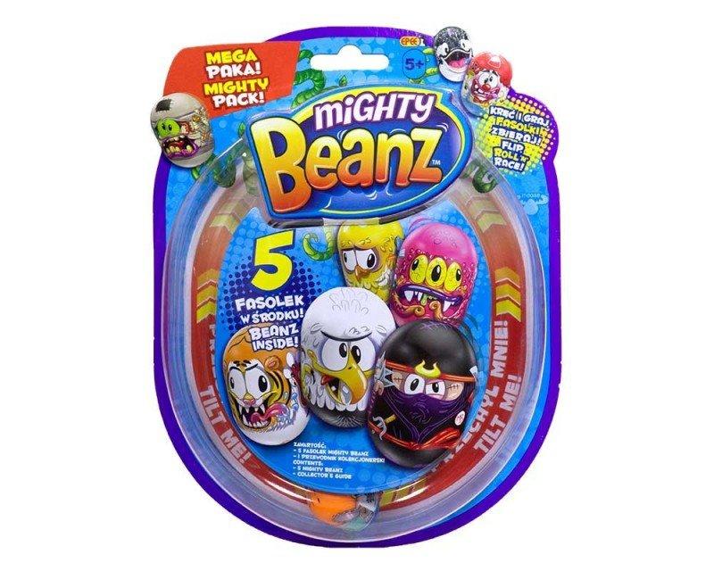 Figurki Fasolki Mighty Beanz - 5-pak blister