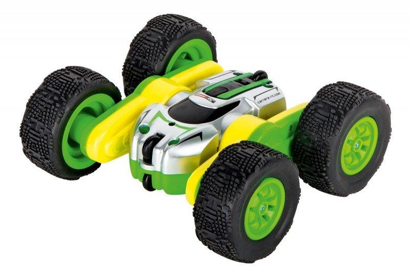 Carrera RC Pojazd Mini Turnator 360/Stunt zielony 2,4GHz