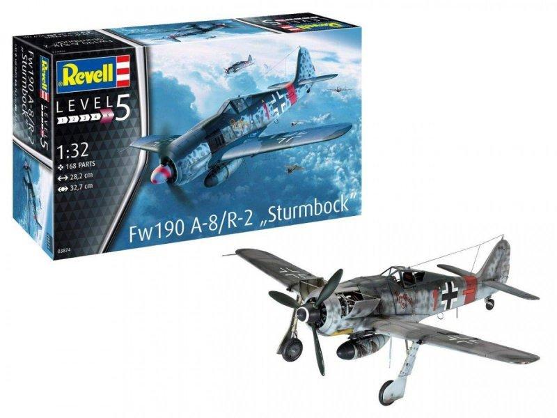 Revell Model plastikowy Fw190 A-8 Sturmbock 1/32