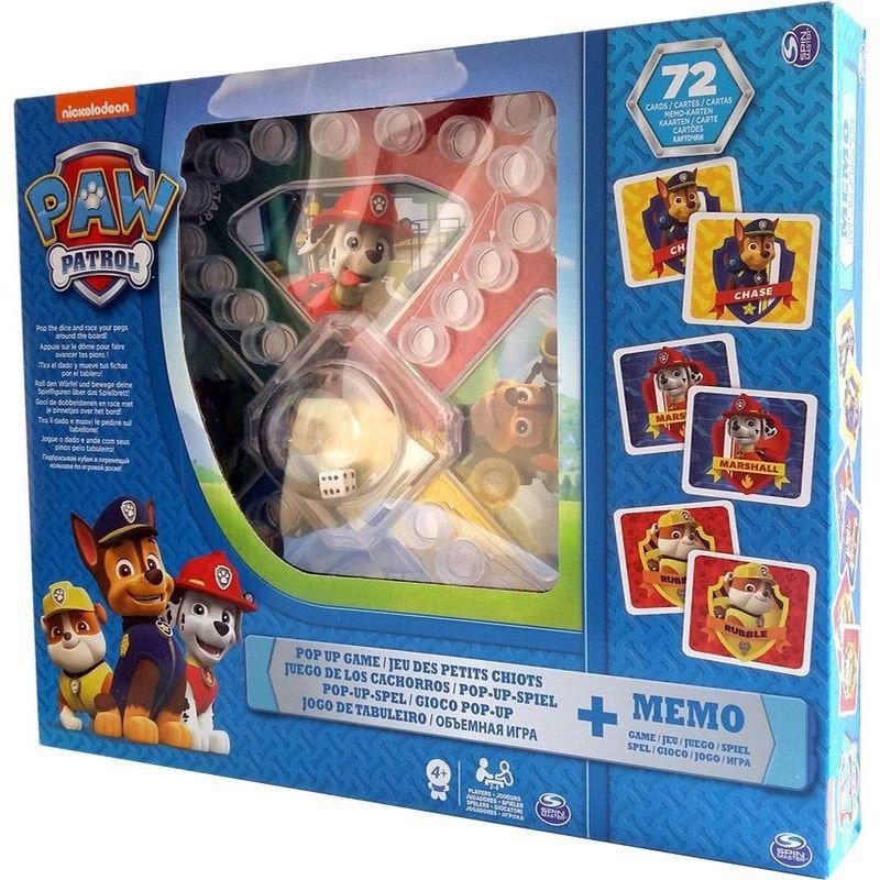 Spin Master Gra Psi Patrol Memory + Popup CARDINAL GAMES