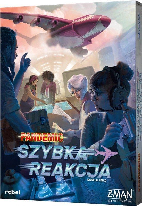 Rebel Gra Pandemic Szybka reakcja