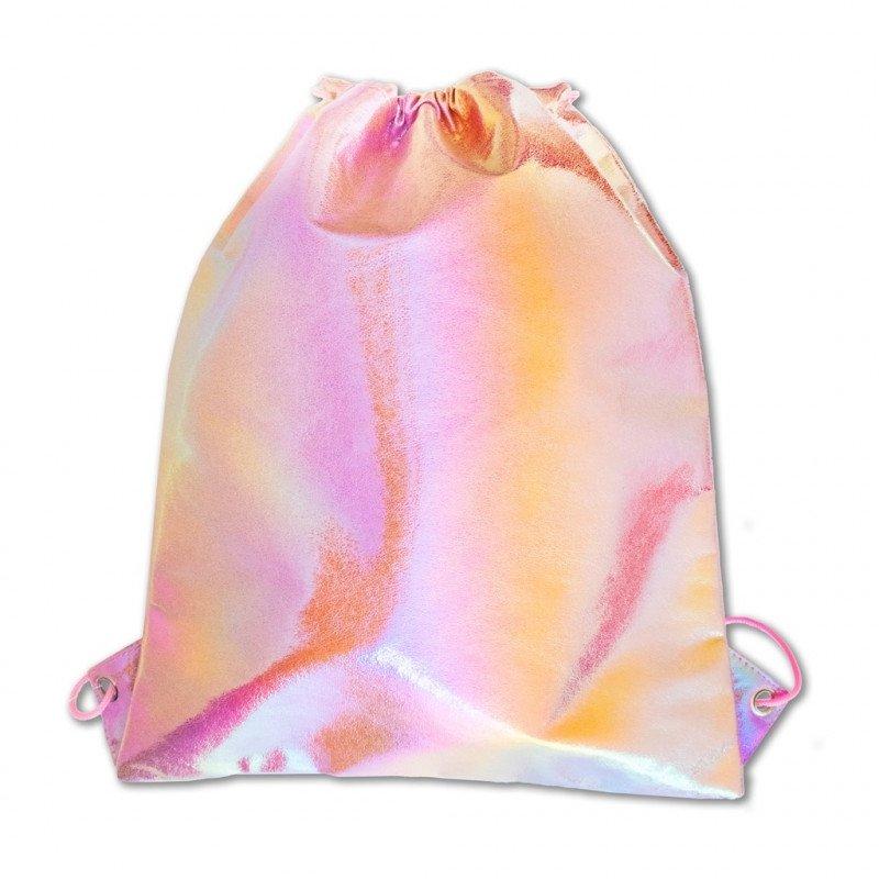 Stnux Worek różowy metaliczny