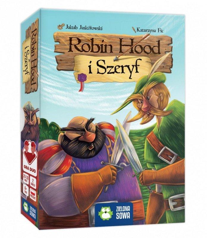 Zielona Sowa Gra Robin Hood i szeryf