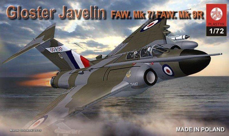 Plastyk Gloster Javelin FAW.Mk. 7/Mk.9