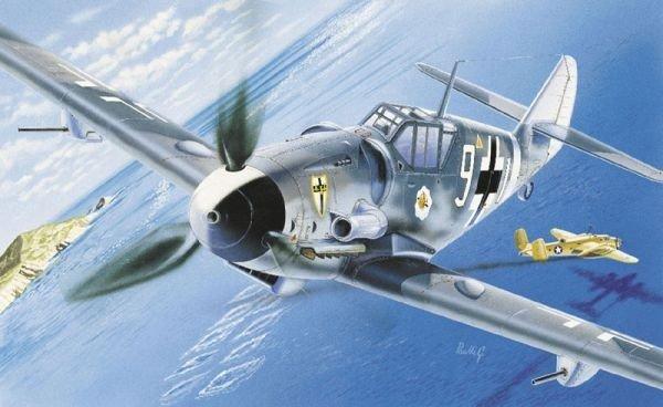 Italeri ITALERI Messerschmitt BF -109 G-6