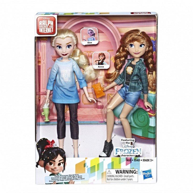 Hasbro Lalki Disney Princess WIR Elsa i Anna