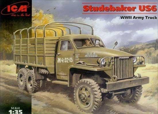 Icm Studebaker US6 WWII  Army Truck