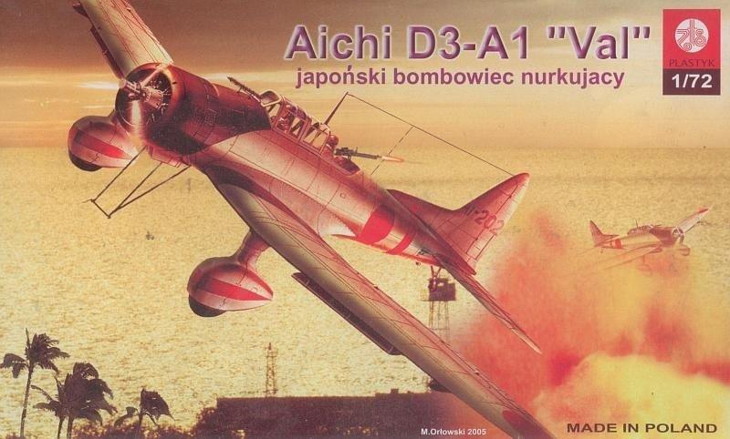 Plastyk PLASTYK Aichi D3-A1 Val