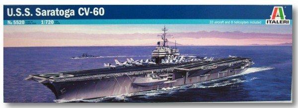 Italeri ITALERI U.S.S. Saratoga CV-60