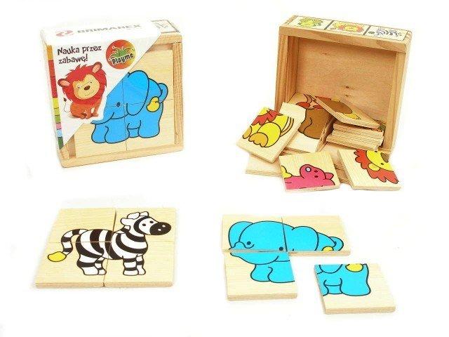 Drewniane Klocki Słoń
