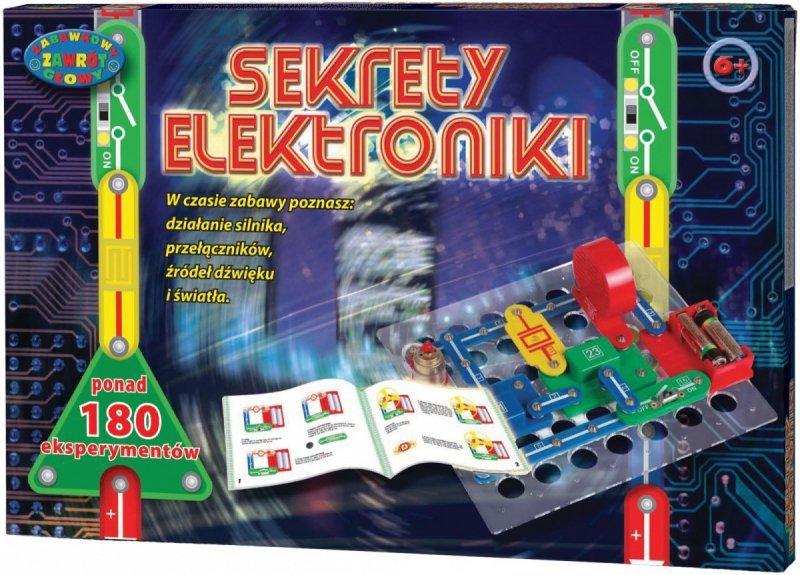 Dromader Sekrety Elektroniki 180 eksperymentów