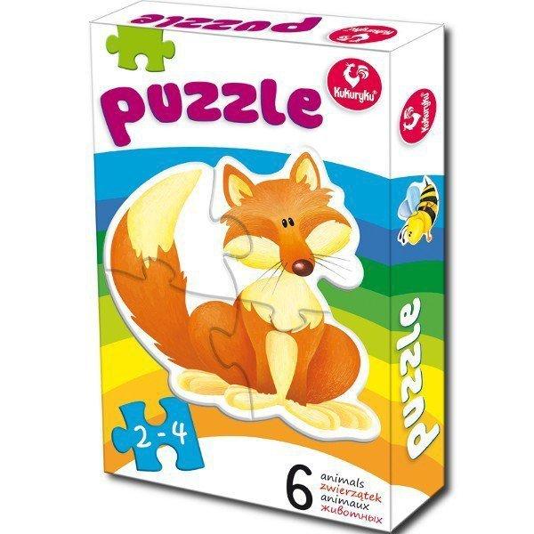 Promatek Pierwsze Puzzle, Zwierzątka 1