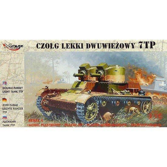 Mirage Czołg Lekki 7TP Dwuwieżowy